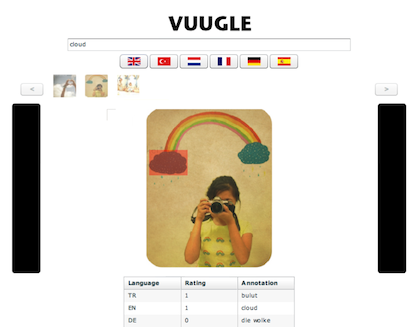VUUGLE image search engine and annotation tool